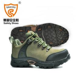 Bottes de travail de gros Steel Toe Boots Steel Toe Cap de la protection des chaussures de sécurité