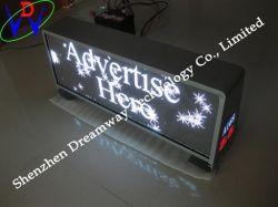 O México Táxi Display LED de publicidade do Cortador de Pontas