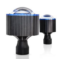 Obiettivi automatici H4 H7 H1 dell'automobile NASCOSTI delle lampadine mini H4 LED lumen dell'obiettivo 6500 del proiettore di potere eccellente