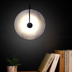 LEDの壁ランプの枕元夜ライト寝室の居間の通路のSconceの照明設備の壁の装飾の芸術の大理石の照明