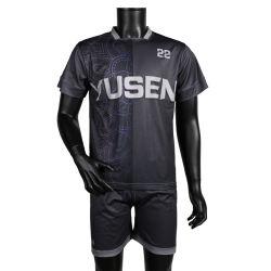Qualité respirante Jerseys Tracksuits DIY Numéro Nom Soccer Jersey