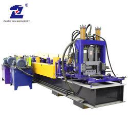 Profil en aluminium de coupe hydraulique de la Section de châssis C Z PANNE U le canal de laminage à froid la machine de production de machines de formage de rouleau
