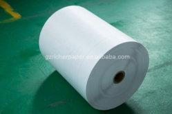 28-80GSM papier kraft blanc de qualité Premium Hamburger Sandwich sac de papier