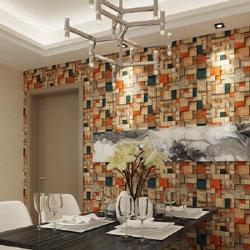 Billiges Wholesale 3D Design PVC Interior Hintergrundpapier für Home Decor