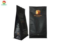 [رسلبل] [متّ] لون أسود صفّ [ألومينوم فويل] [500غ] [1كغ] [2كغ] رمز بريديّ تعقّب هويس [فلت بوتّوم] قهوة يعبّئ حقيبة مع صمام عالة يطبع