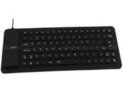 OEM 85 ключевых водонепроницаемый Пыленепроницаемость Состояния двухцветного светового индикатора складывания виртуальная клавиатура USB