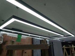 Lineare helle nahtlose verbindbare LED Architekturdecken-Montierungs-direktes lineares Licht des Qualitäts-Aluminium-LED für Werbung und Kleinanwendung ENEC