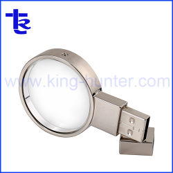 Crystal Unidade de memória USB keys para Empresa Oferta Promocional