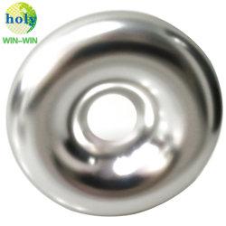 Fabrication OEM Precison 4axe CNC Usinage de pièces avec placage nickel