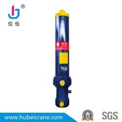 Custom de acción simple trazo del vástago del pistón de elevación de piezas de ingeniería hidráulica de presión del cilindro gato