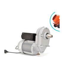 Aoer 375W, 60Hz, proteção de sobrecarga de corrente do motor da caixa de velocidades com redutor, Motor de mistura de betão