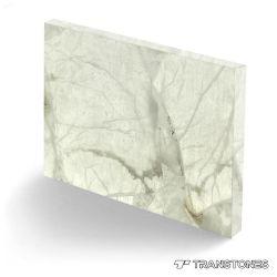 Alabastro bianco Polished decorato traslucido del Onyx per il rivestimento murale
