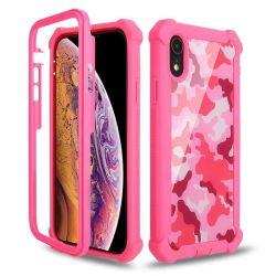 Rosafarbene Tarnung-Hochleistungsverteidiger-Kasten-Zellen-/Handy-Fall für iPhone X/Xi/Xr/Xs/Xsmax/7plus/7/8/8plus