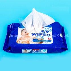مناديل تنظيف متوفرة من قبل OEM للعناية بالأطفال رطبة