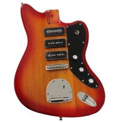 Les instruments de musique de Miel/tabac/Cherry Burst couleur Corps de guitare électrique