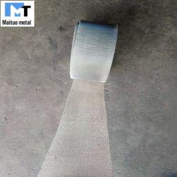 Ss 304 bandas de malla tejida