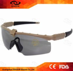 O OEM CS jogo óculos de filmagem UV militar400 Proteger Tactial Segurança óculos de visão nocturna
