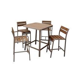 Polywood barre en aluminium Président Tableau Intérieur Extérieur Loisirs Café Jardin meubles de patio