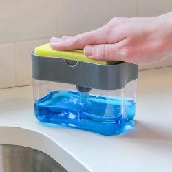 비누 펌프 분배기와 갯솜 홀더