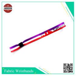 Wristbands del braccialetto del poliestere tessuti tessuto