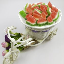 China Yibang Halloween personalizados hechos a mano caramelos gomosos jugo