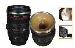OEM de Creatieve Kop van de Thermosflessen van de Koffie van de Lens van de Camera van Emulational van het Roestvrij staal
