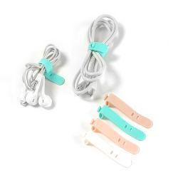 Un estilo simple auricular de silicona/Cargolashing Cable de datos para la promoción