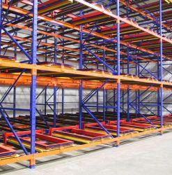 SGS Ccertification Certificationcertificationindustrial склад для хранения сдвиньте назад стеллажа для поддонов /промышленных поддона коробки для установки в стойку/селективный стеллажа для поддонов