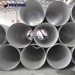 La norme ASTM A312 de grand diamètre en acier inoxydable pour le liquide du tube de transport ou l'usine de papier