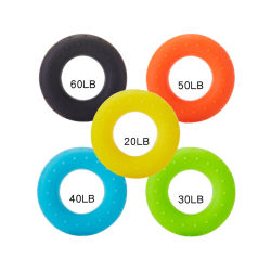 Mango de caucho de silicona de anillo, el Asidero Strengthener, producto de Fitness