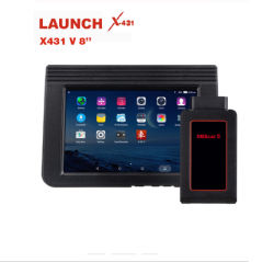 Nouveau lancement X431 V 8 pouce de WiFi/Bluetooth outil de diagnostic automatique complète du système de 2 ans Mise à jour gratuite X-431 V Scanner pour + de 200 pays