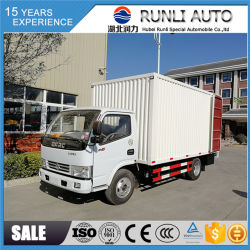 DFAC 4X2 3 Ton Van Truck da vendere con il prezzo basso usato per trasporto normale delle merci