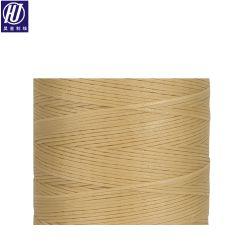 Nouveau modèle ciré cordon plat en nylon tressé Thread ciré