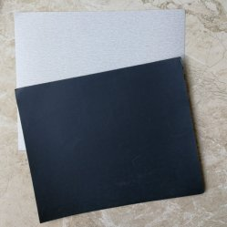Carta vetrata, documento di smeriglitatura, documento abrasivo asciutto della sabbia, rullo del documento della sabbia