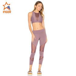Cheap Wholesale Sports Fitness lisse doux respirant l'usure des jambières de Yoga