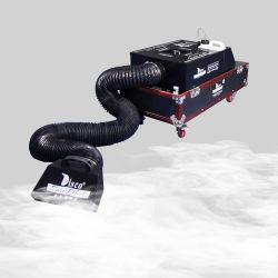 Der Hochzeits-3000W Stadium Wasser-niedriges Nebel-Effekt-der Maschinen-DMX, das unten Rauch-Gerät liegt