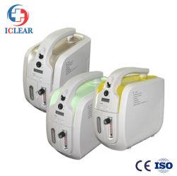 1L'utilisation d'accueil médical portable Mini concentrateur d'oxygène pur électrolytique