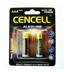 Buena calidad de LR03 de 1,5 Alcalina AAA pilas para relojes de alarma