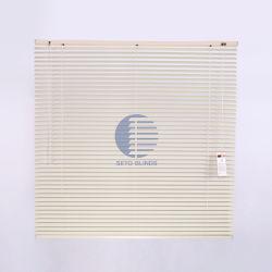 カスタマイズされた白くか多彩な水平の50mm/35mm/25mm/16mmのビニールのアルミニウムベニス風のカーテンかシャッターまたはブラインド