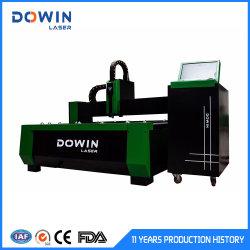 CNCレーザーの金属の打抜き機の価格の熱い販売の二重用途の切口の版および管1530 1000W