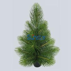 인공적인 플랜트 크리스마스 가정 훈장 PE 공장 직접 도매 (49105)를 위한 남비를 가진 엄청나게 큰 소나무