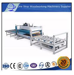 La prensa caliente automática máquina rompecabezas de madera con una capa/ Dedo Jointer con alimentación automática / máquina laminadora de junta del panel de madera