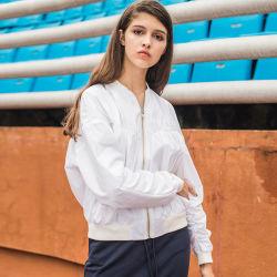 Frauen-Wind-Mäntel für Sprung-und Herbst-Eis-Baumwollgewebe-Rüsche-Entwurfs-Staub-Mantel