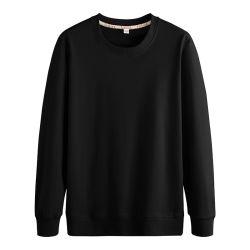 Logo personnalisé 97% coton Imprimer LES HOMMES col rond Sport vierge Hoodies pull Sweat-shirt décontracté