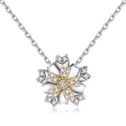 方法925純銀製の星の豪華な2つのカラーめっきのペンダント