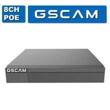 5MP까지 Gscam H. 265+ 4CH Poe 통신망 비디오 녹화기 채널 통신로 사진기