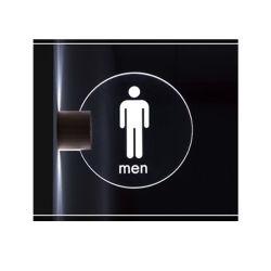 حاجة [ليت] عكس لوح أكريليكيّ مكتب باب [لد] يضاء إشارة