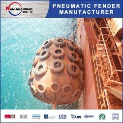 Type de Net Marine l'aile pneumatique de Yokohama pour les petits navires transférés à la Big Barge des navires à la norme ISO 17357 certifié 2000 mm x 3500 mm