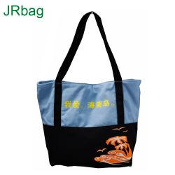 ジッパーが付いている頑丈な旅行キャンバスの戦闘状況表示板のショッピング・バッグ