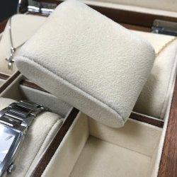 6 أجهزة كمبيوتر ساعات ومجوهرات عرض علبة تخزين خشبية حزمة صندوق هدايا مع بياضه مخملية